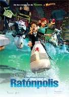 Flushed Away - Spanish Movie Poster (xs thumbnail)