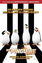 Penguins of Madagascar - Swiss Movie Poster (xs thumbnail)