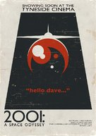 2001: A Space Odyssey - British Homage movie poster (xs thumbnail)