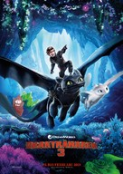 How to Train Your Dragon: The Hidden World - Swedish Movie Poster (xs thumbnail)