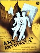 Antoine et Antoinette - French Movie Poster (xs thumbnail)