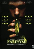 Perfume: The Story of a Murderer - Finnish DVD movie cover (xs thumbnail)