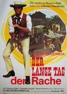 I lunghi giorni della vendetta - German Movie Poster (xs thumbnail)