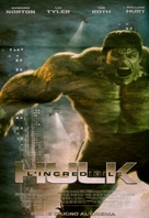 The Incredible Hulk - Italian Movie Poster (xs thumbnail)