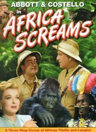 Africa Screams - DVD cover (xs thumbnail)