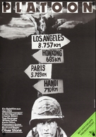 Platoon - German Movie Poster (xs thumbnail)