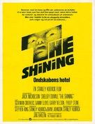 The Shining - Danish Movie Poster (xs thumbnail)