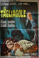 Le boucher - Italian Movie Poster (xs thumbnail)