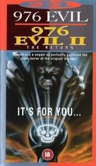 976-EVIL - British VHS cover (xs thumbnail)