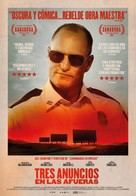 Three Billboards Outside Ebbing, Missouri - Spanish Movie Poster (xs thumbnail)