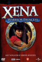 """Xena: Warrior Princess"" - Dutch DVD cover (xs thumbnail)"