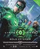 Green Lantern - Chilean Movie Poster (xs thumbnail)