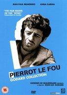 Pierrot le fou - British DVD cover (xs thumbnail)