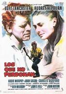The Unforgiven - Spanish Movie Poster (xs thumbnail)