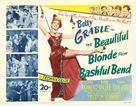 The Beautiful Blonde from Bashful Bend - Movie Poster (xs thumbnail)
