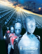 I, Robot - DVD movie cover (xs thumbnail)