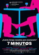Siete minutos - Spanish Movie Poster (xs thumbnail)