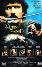 Robin Hood - German VHS movie cover (xs thumbnail)