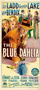 The Blue Dahlia - Australian Movie Poster (xs thumbnail)