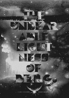 The Unbearable Lightness of Being - Homage movie poster (xs thumbnail)