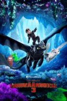 How to Train Your Dragon: The Hidden World - Finnish Movie Cover (xs thumbnail)