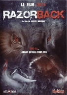 Razorback - French Movie Cover (xs thumbnail)