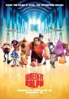 Wreck-It Ralph - New Zealand Movie Poster (xs thumbnail)