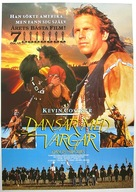 Dances with Wolves - Swedish Movie Poster (xs thumbnail)