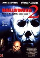 Halloween II - Danish DVD cover (xs thumbnail)