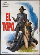 El topo - Italian Movie Poster (xs thumbnail)