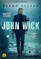 John Wick - DVD movie cover (xs thumbnail)