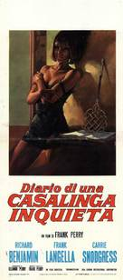 Diary of a Mad Housewife - Italian Movie Poster (xs thumbnail)
