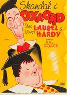 A Chump at Oxford - Swedish Movie Poster (xs thumbnail)