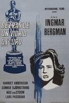 Såsom i en spegel - Argentinian Movie Poster (xs thumbnail)