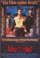 Boyz N The Hood - German Movie Poster (xs thumbnail)