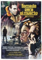 The Deadly Affair - Spanish Movie Poster (xs thumbnail)