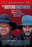 The Sisters Brothers - Danish Movie Poster (xs thumbnail)