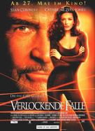 Entrapment - German Movie Poster (xs thumbnail)