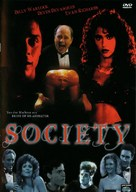 Society - German DVD movie cover (xs thumbnail)