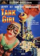 Tank Girl - Canadian DVD movie cover (xs thumbnail)