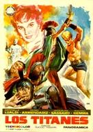 Arrivano i titani - Spanish Movie Poster (xs thumbnail)