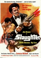 Slaughter - German Movie Poster (xs thumbnail)
