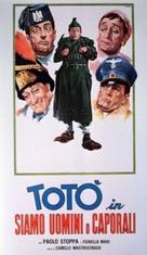 Siamo uomini o caporali - Italian Movie Poster (xs thumbnail)