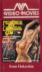 La montagna del dio cannibale - VHS movie cover (xs thumbnail)