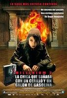 Flickan som lekte med elden - Mexican Movie Poster (xs thumbnail)
