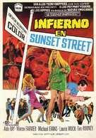 Riot on Sunset Strip - Spanish Movie Poster (xs thumbnail)