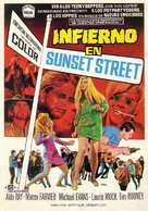 Riot on Sunset Strip - Spanish Movie Poster (xs thumbnail)