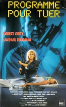 Programmed to Kill - French VHS movie cover (xs thumbnail)