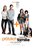 Instant Family - German Movie Poster (xs thumbnail)