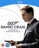 Quantum of Solace - British Blu-Ray movie cover (xs thumbnail)